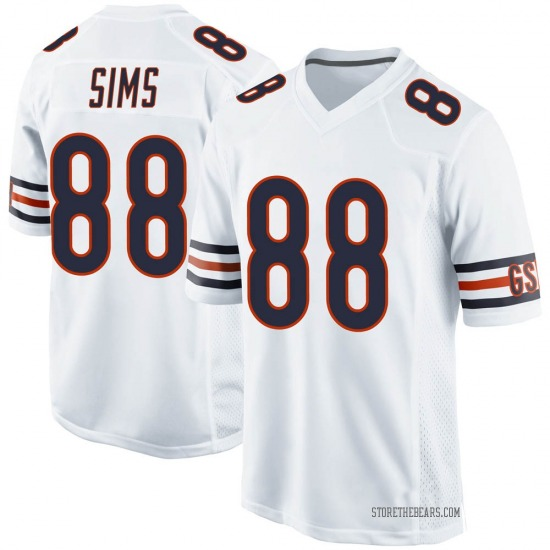 Dion Sims Chicago Bears No.88 Game Jersey - White