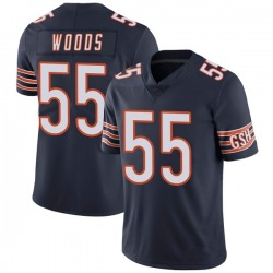 Josh Woods Chicago Bears No.55 Limited Team Color Vapor Untouchable Jersey - Navy
